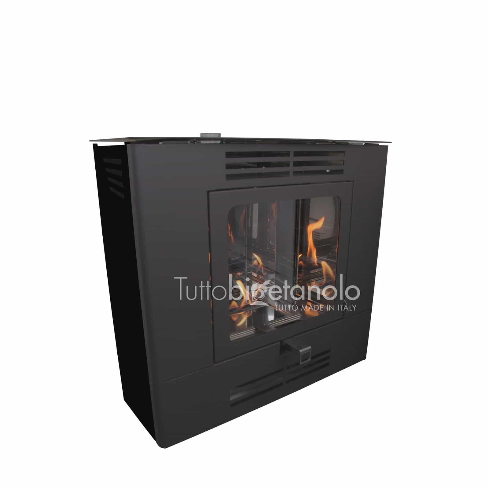 Stufa a bioetanolo Easy Corner made in Italy - Tuttobioetanolo